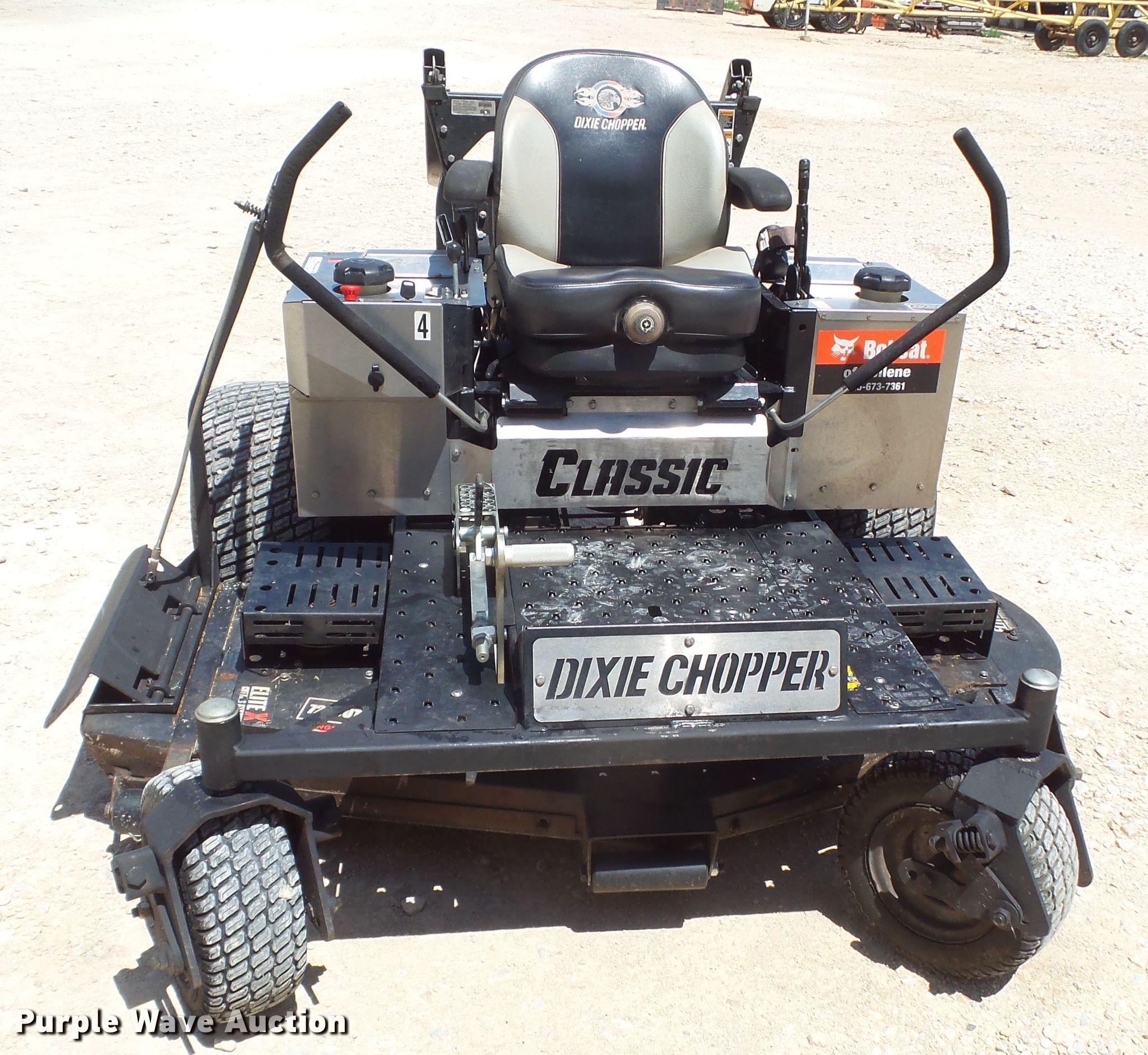 Dixie Chopper Classic ZTR lawn mower | Item FL9268 | Wednesd