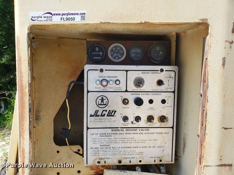 JLG 60H boom lift | Item FL9050 | 8-20-2019 Jlg H Man Lift Wiring Diagram on