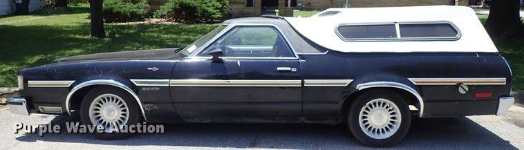 1979 Ford Ranchero | Item DE5462 | Wednesday August 21 Vehic