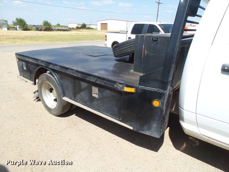 2012 Dodge Ram 5500 flatbed truck | Item FL9326 | SOLD! Augu