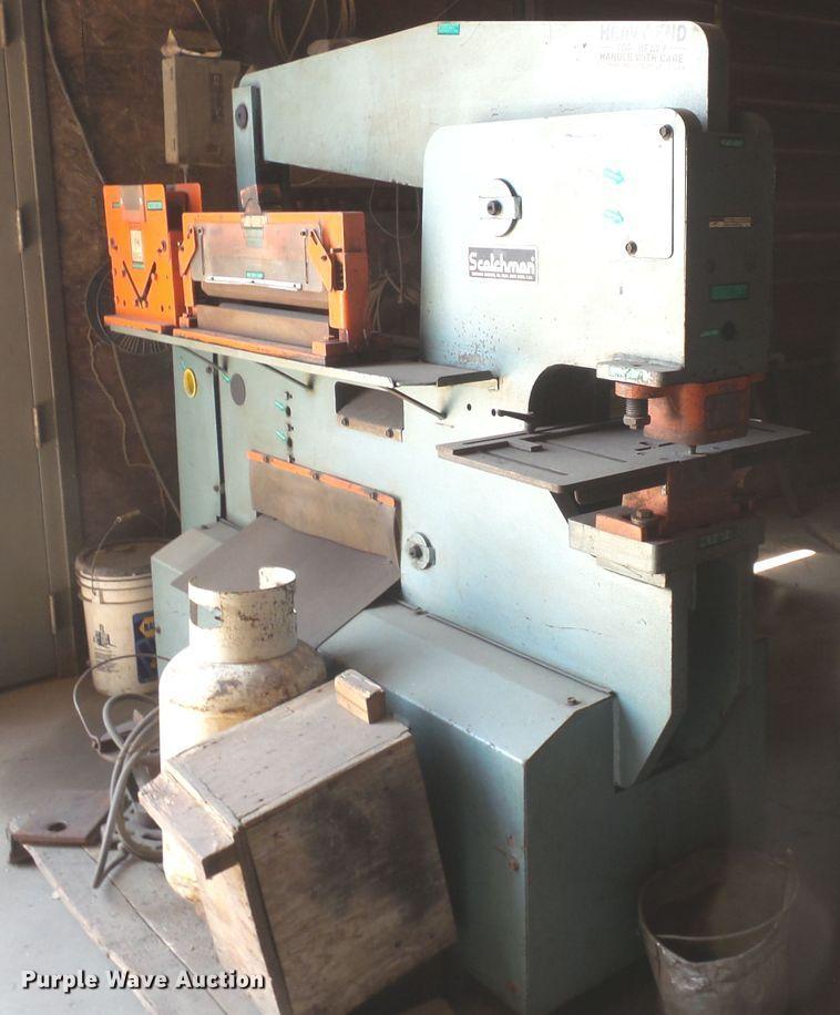 Scotchman 9012-24M punch press/metal shear   Item FM9470   T