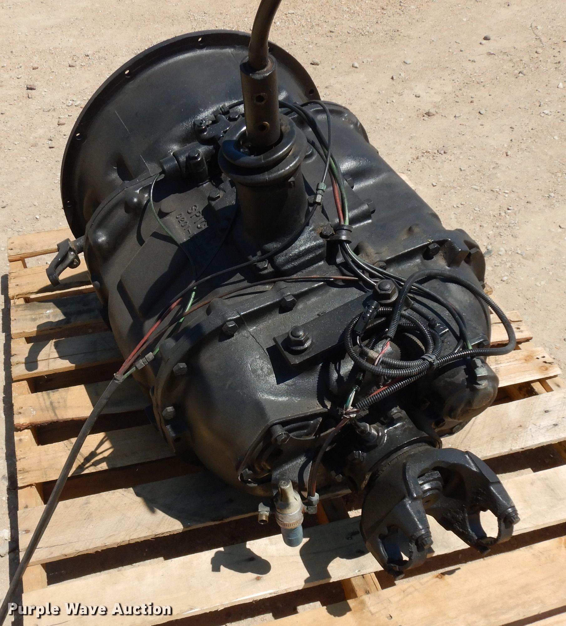 Spicer 10 speed transmission | Item FY9650 | Thursday August