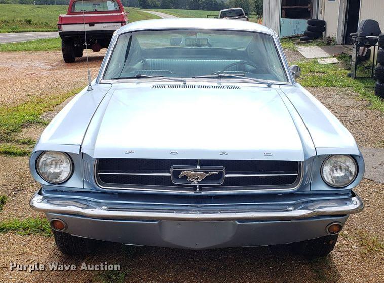 1965 Ford Mustang Fastback | Item FW9499 | Wednesday Septemb