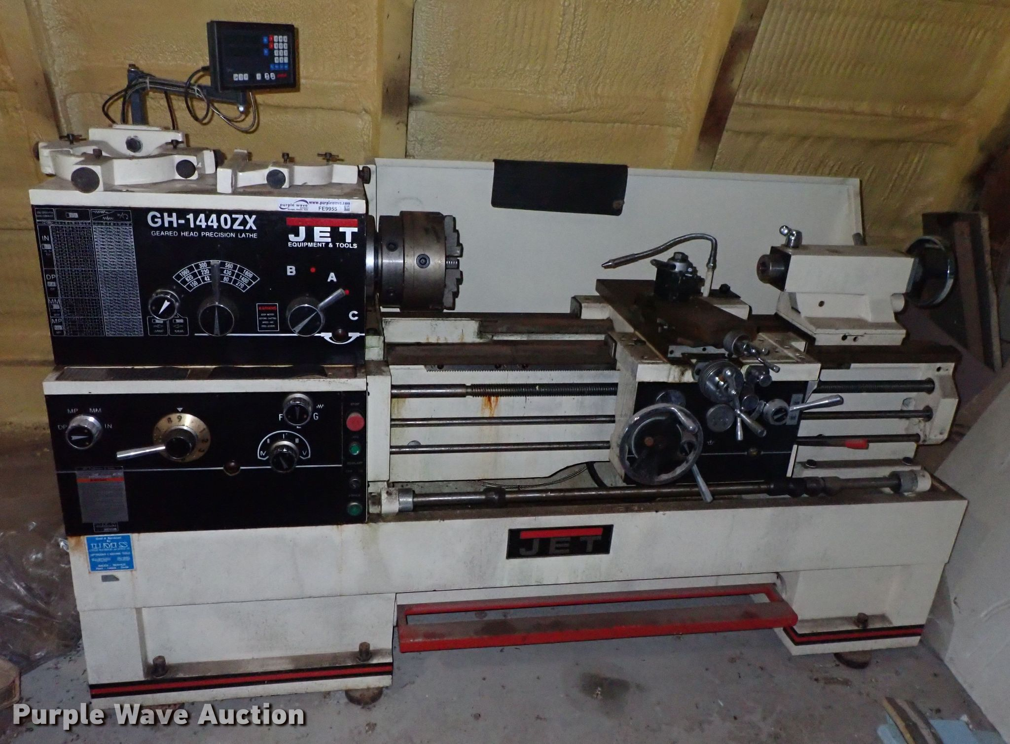 Jet GH1440ZX geared head precision lathe | Item FE9955 | Wed
