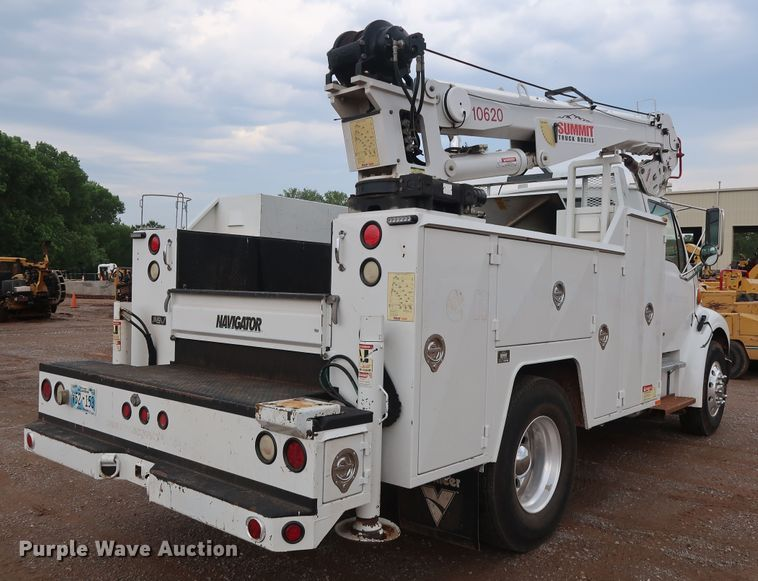 2006 Sterling Acterra service truck with crane | Item FE9729