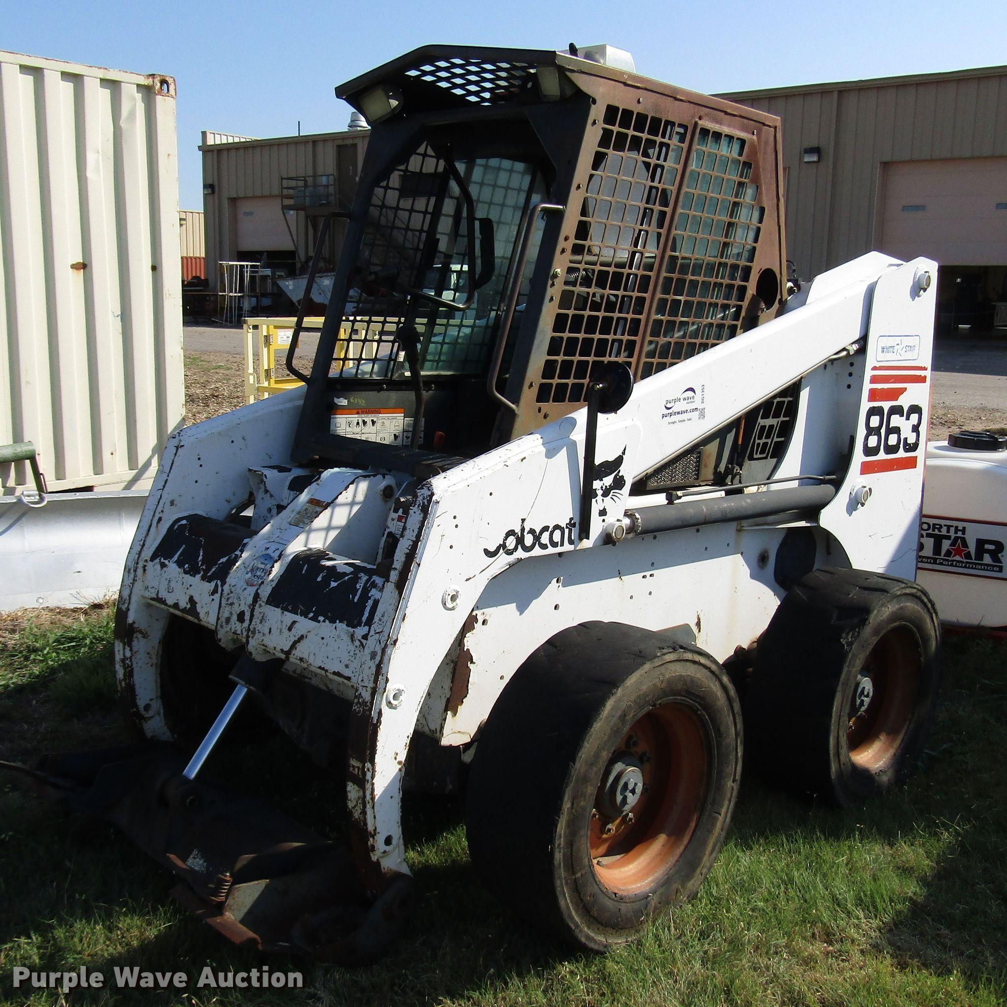 1998 Bobcat 863 skid steer | Item DG1353 | Tuesday September