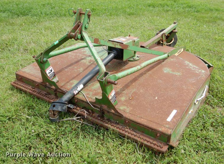 John Deere MX6 rotary mower | Item EK9053 | Wednesday Septem