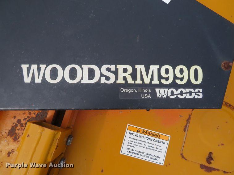 2003 Woods RM990 finish mower | Item EV9734 | 9-18-2019