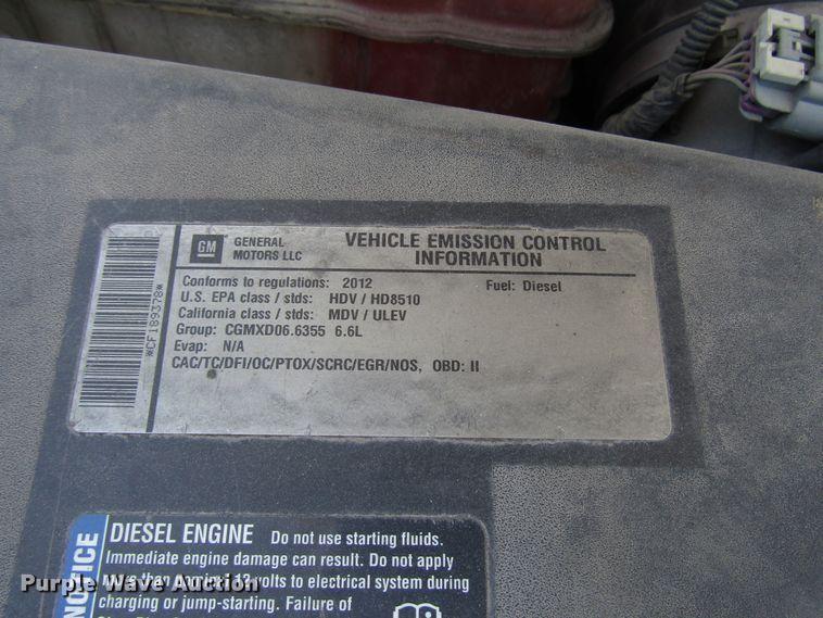 2012 Chevrolet Silverado 2500HD Crew Cab pickup truck   Item