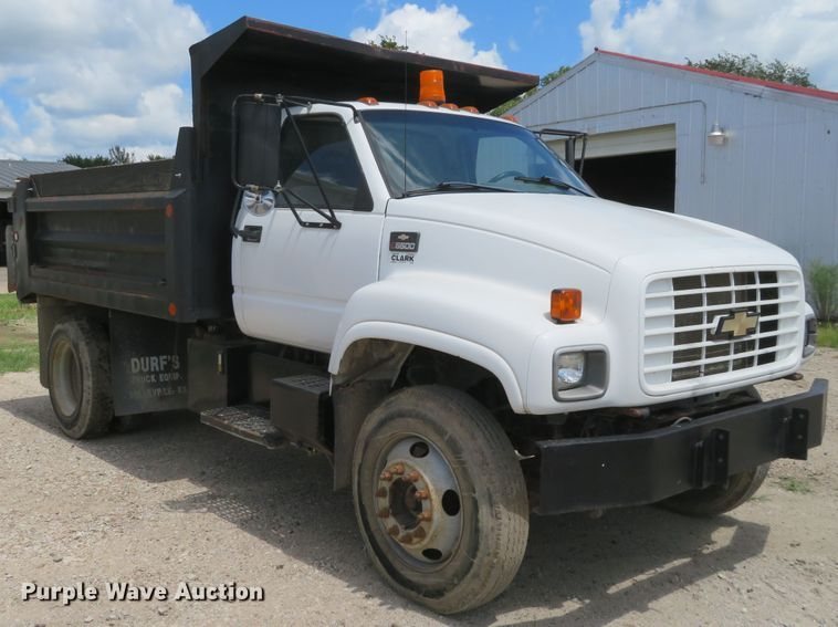 1999 Chevrolet C6500 Dump Truck In Emporia Ks Item Fv9025 Sold Purple Wave