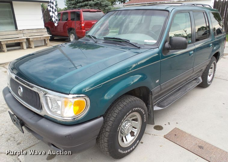 1998 mercury mountaineer suv in perry ia item em9821 sold purple wave 1998 mercury mountaineer suv in perry