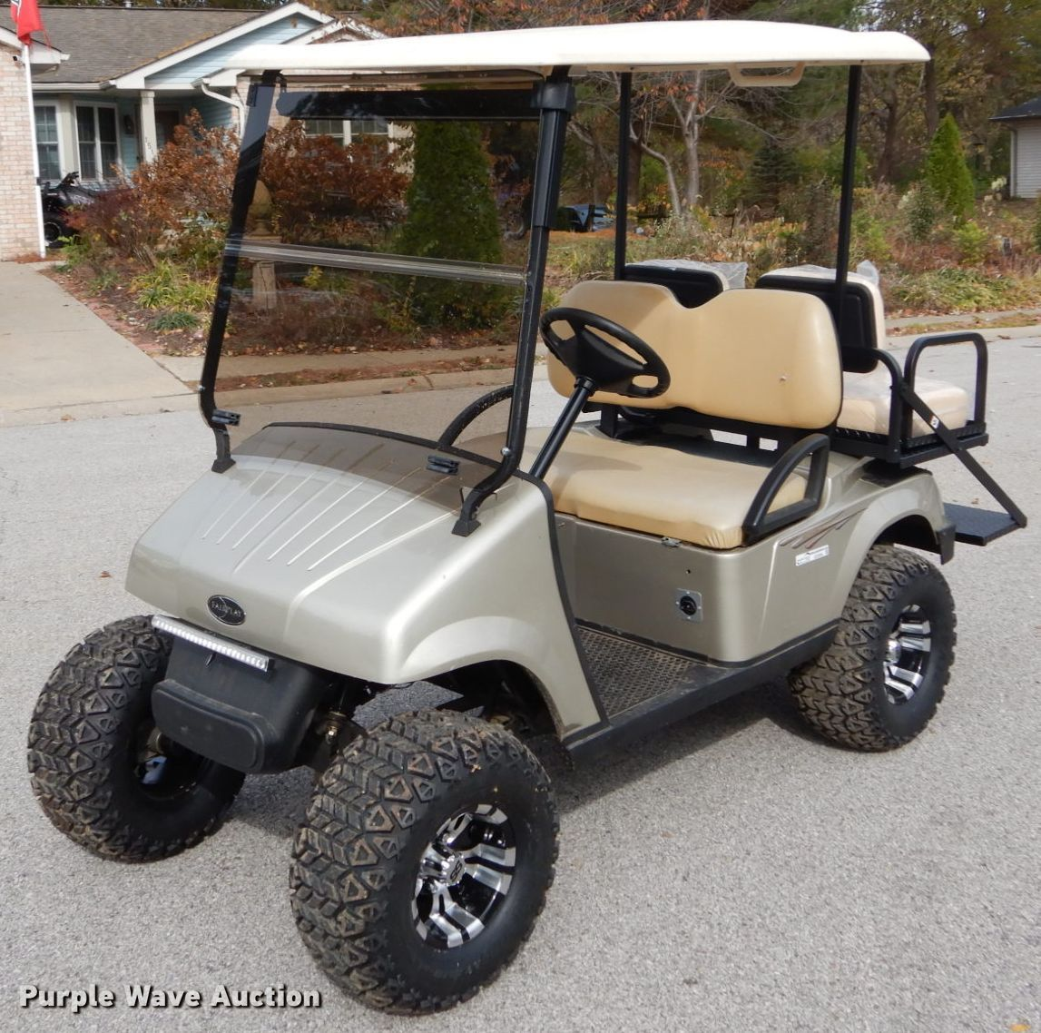 2015 Fair Play Golf Cart In O Fallon Il Item Gc9390 Sold Purple Wave