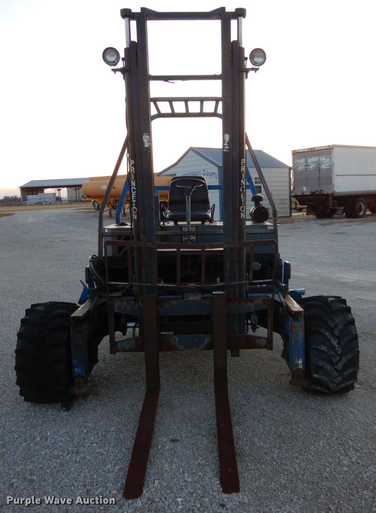 1999 Teledyne Princeton D45 Piggyback Forklift