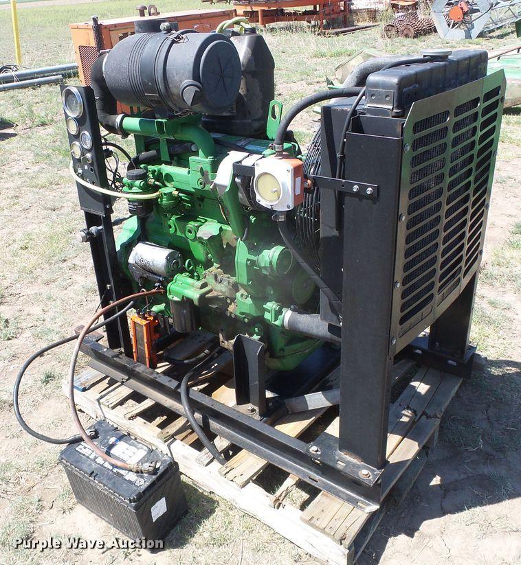 JOHN DEERE 4045DF150 ENGINE ASSEMBLY TRUCK PARTS #725163