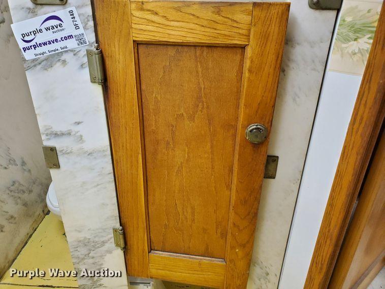 Marble bathroom stalls in Dodge City, KS | Item DF7440 for ...