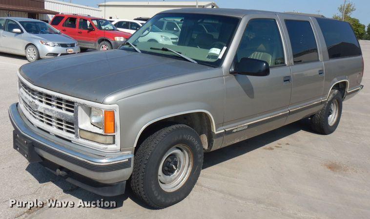 1998 Chevrolet Suburban C1500