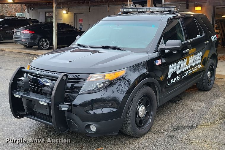 2014 Ford Explorer Police Interceptor