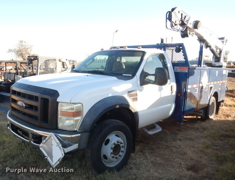 2008 Ford F550 Super Duty
