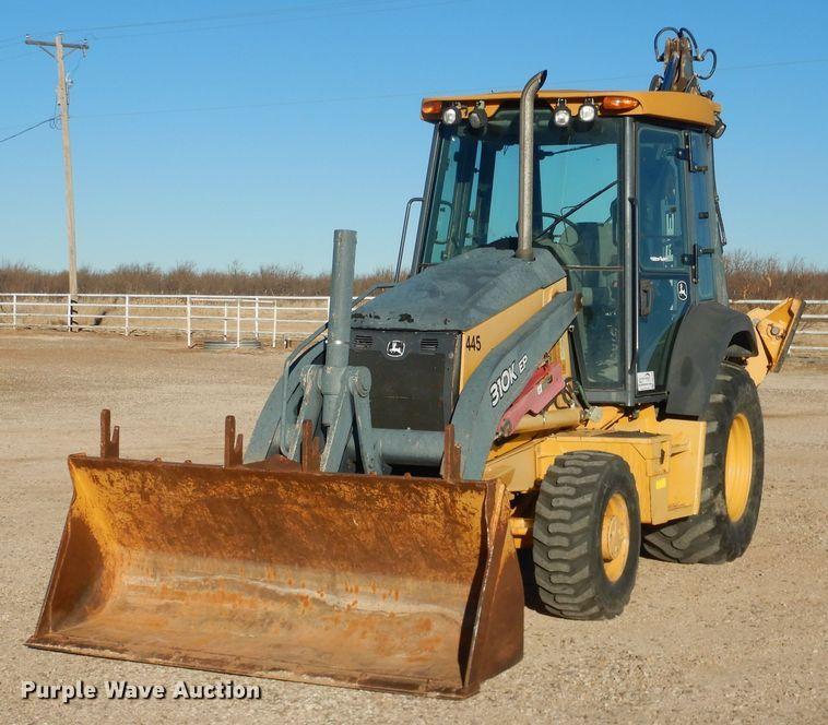 2012 John Deere 310K