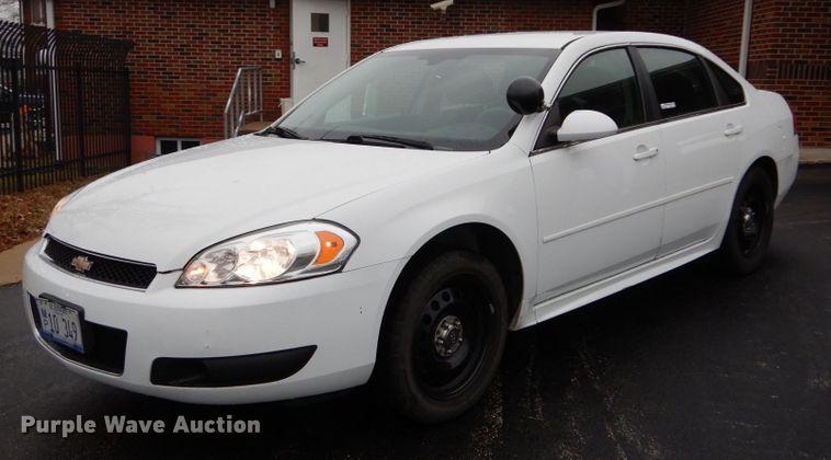 2014 Chevrolet Impala Police