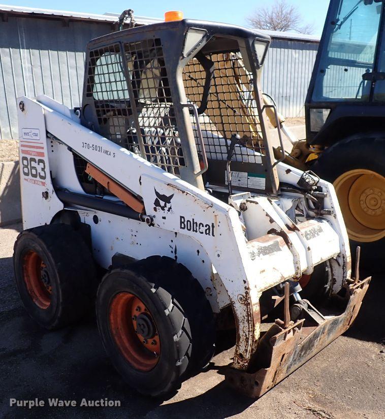 2001 Bobcat 863