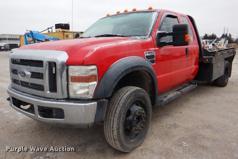2009 Ford F550 Super Duty XLT