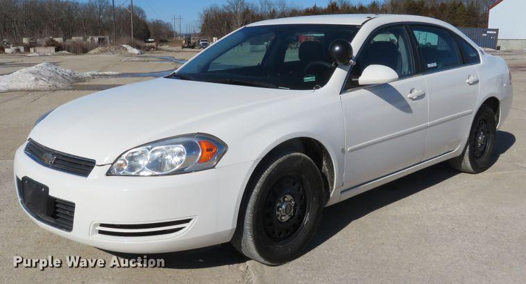 2008 Chevrolet Impala Police Cruiser