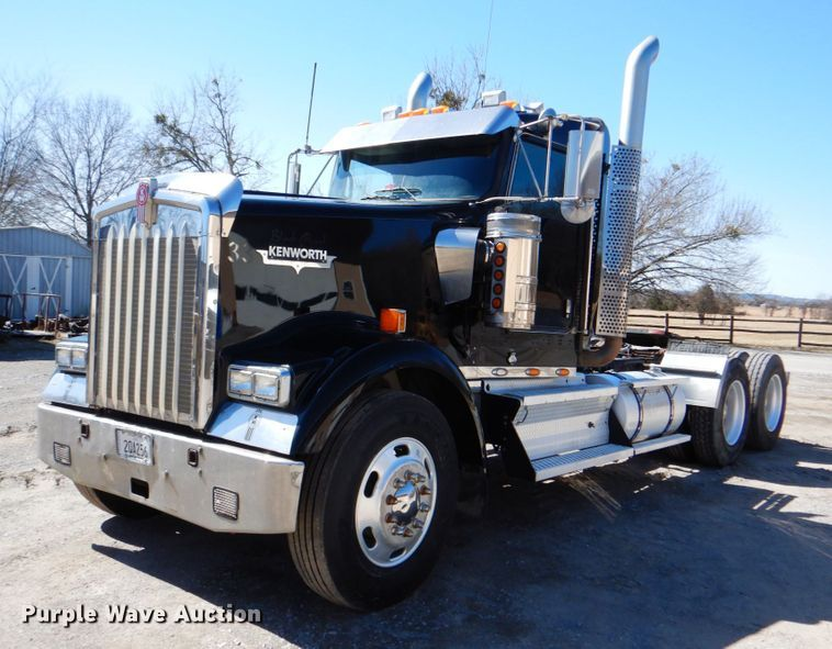 2009 Kenworth W900