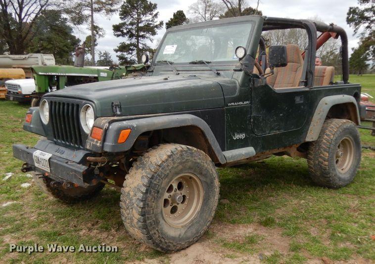 1997 Jeep Wrangler Rubicon