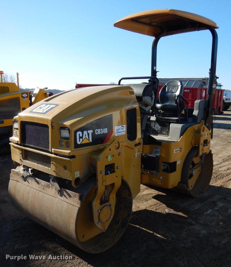 2017 CAT CB34B