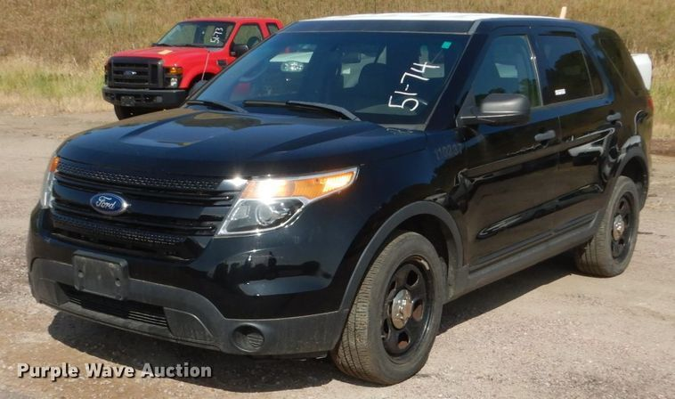 2013 Ford Explorer Police Interceptor