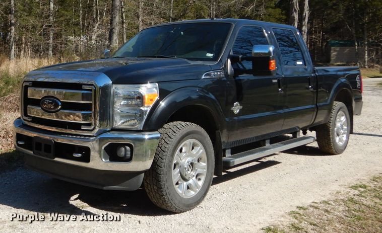 2012 Ford F250 Super Duty Lariat