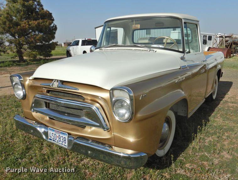 image for item DJ8384 1957 International A100 Golden Jubilee  pickup truck