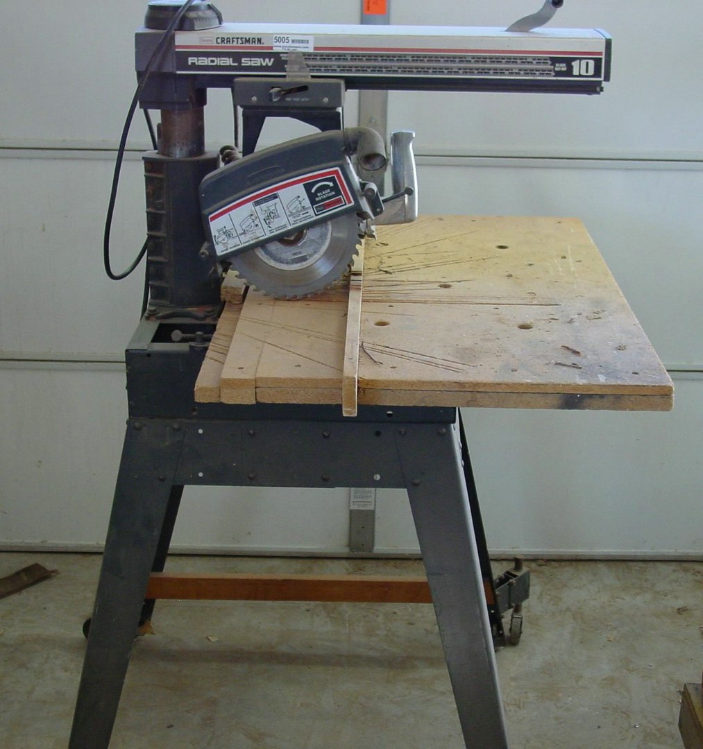 Craftsman radial arm saw images for Sears craftsman