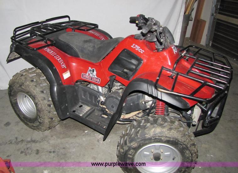 Bush Hog 175cc ATV | Item 2001 | SOLD! November 16 Nevada In