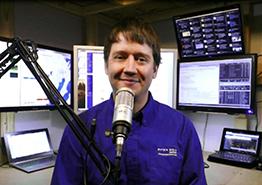 Aaron Traffas podcast studio